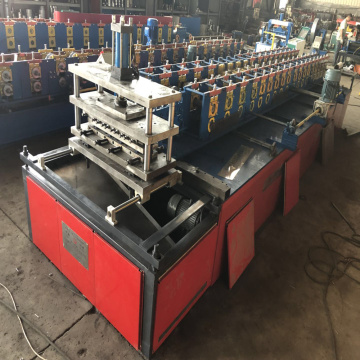 Rolling metal roll forming machine