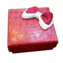 Venta al por mayor de la caja del anillo del papel del cocodrilo de la mariposa (BX-CDB-R1)