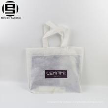 Image print fabric non woven polypropylene tote bag with logo