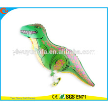 Dinosaurio del globo de la hoja del juguete del globo del animal doméstico del paseo de Fashionanle para el regalo de Christms