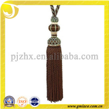 China Cotton Tassel Fringe for Curtains Decoration,Made in Hangzhou