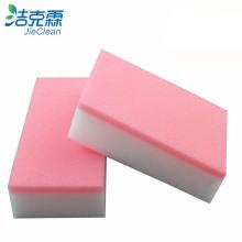 Pink Color Melamine Sponge