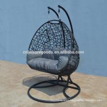 2017 new design rattan hanging chair for garden
