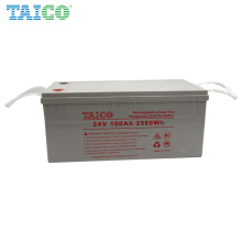 Solar RV Yachat 24V 100AH LiFePO4 100Ah Lithium Battery