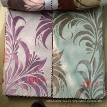Poliéster Jacquard cortina barata de tela de cortina en China
