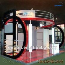 Portable modulaire 10'x20 'conception de stand de salon d'exposition pour la coutume faite par Shanghai Detian