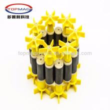 14 Jahre Erfahrung! Kundenspezifische Kunststoff Injektion Ferrit Keramik Magnet Wasser Pumpe Rotor