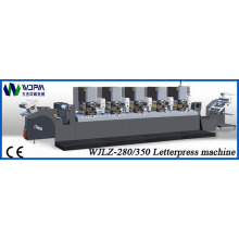 Intermittierende Letterpress-Label-Druckmaschine