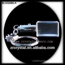 K9 Cristal em branco para gravação a laser 3D BLKG089-A