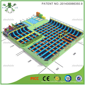Creative Luxury Large Trampoline Park for Equipment