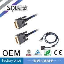 SIPU cable rs232 de alta calidad para cable dvi 24 + 1