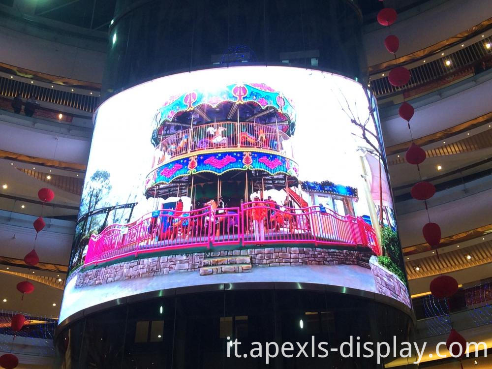 Curved Led Display For Shopping Mall 2