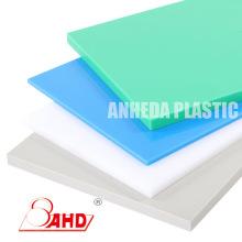 Placas de placas de hojas de HDPE de color