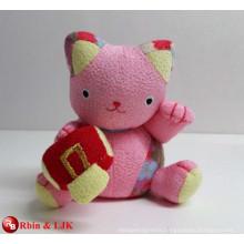 OEM design;custom plush toy, plush lucky cat