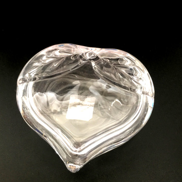 Crystal Heart Shaped Candy Jar