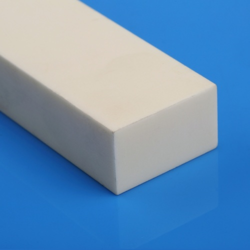 Mesin Rectangle Solid 99% 99,5% Alumina Ceramic Bar