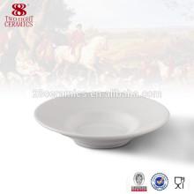 Wholesale tableware Bone china dish plate white porcelain plates