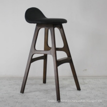 High Quality Wooden Furniture Bar Chair with Solid Wood Leg