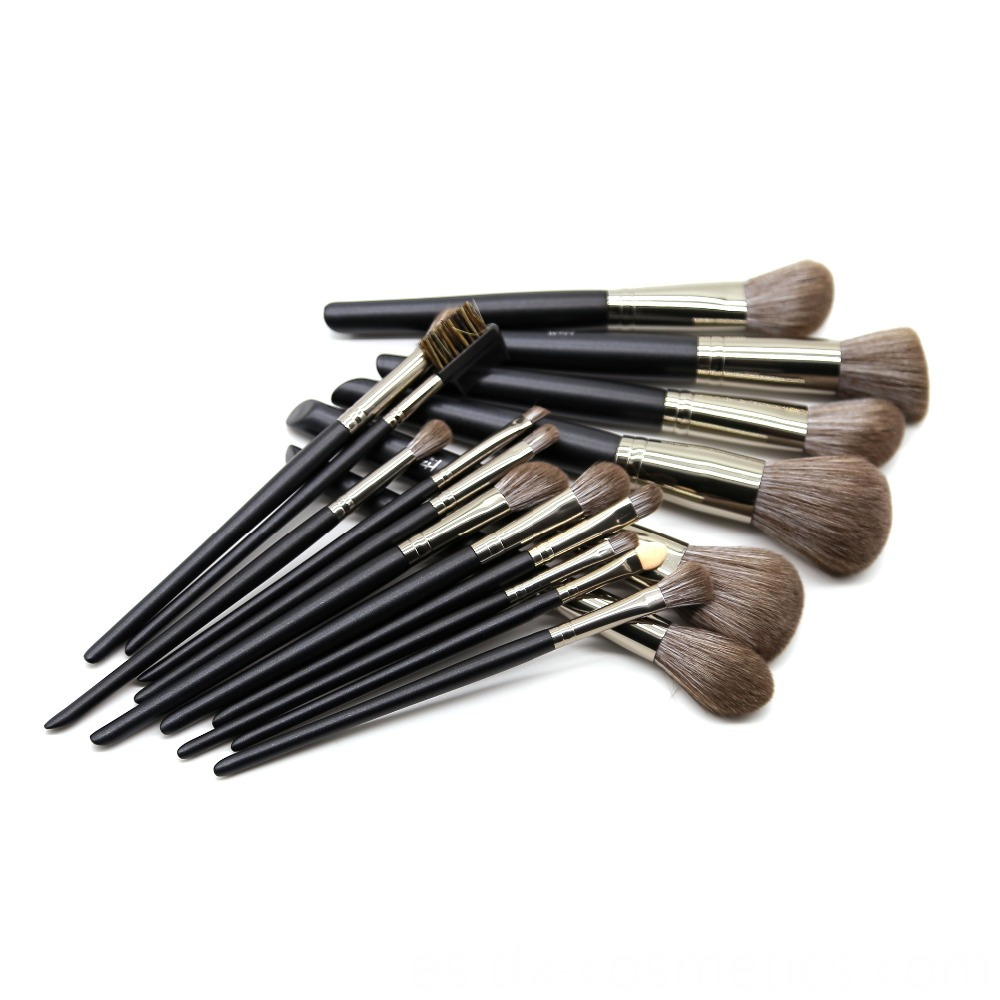 14 Pcs Black Makeup Brush Set 4