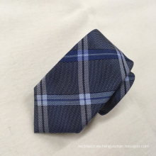 El último nuevo diseño Fashion Top Plaid Jacquard Mens Custom Silk Ties