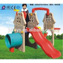JQC3427 Juegos de niños de plástico / tobogán combinado niños / parque de atracciones