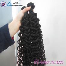 Personal Label Designed Original New Hair Style Pelo rizado Tangle Free Drawn doble