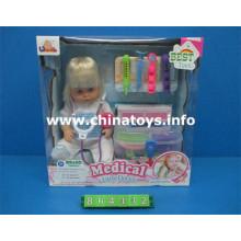 """Muñeca Baby Boy de 16 """"con conjunto de doctores y música (864432)"""