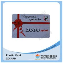 Publicité Promotion Gift Card