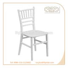 moda PP chiavari boda / eventos silla de bambú diseño comercial silla