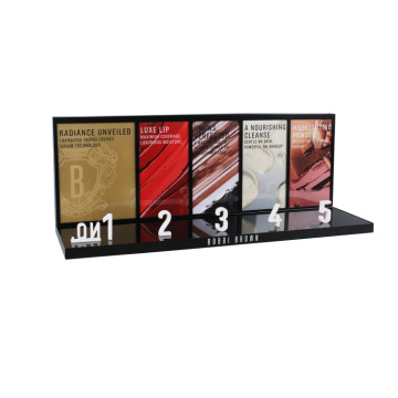 APEX Black Acrylic Counter Lipstik Display Stand Kustom