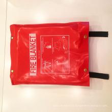 Preço de cobertor de fogo de emergência de fibra Firesafe