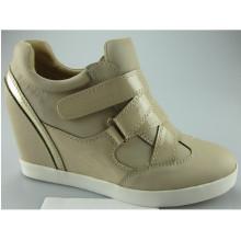 Neue Art-im Freien Wedge-Dame-Absatz-Schuhe (S 31-4)