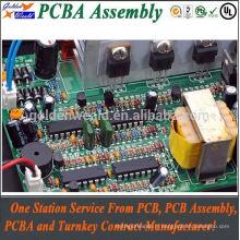 circuit imprimé d'or d'immersion de pcba de carte PCB de circuit imprimé avec l'immersion d'or pcba et le montage de carte PCB oem / odm