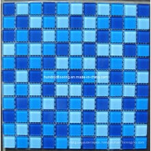 Glass Mosaic Pattern Design Swimming Pool Mosaic (HSP312)