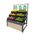 Único Sided Vegetable Display Rack