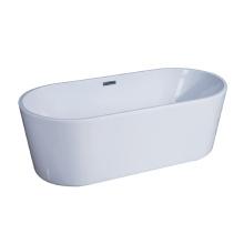 Acryl freistehende tiefe Soaker Badewanne
