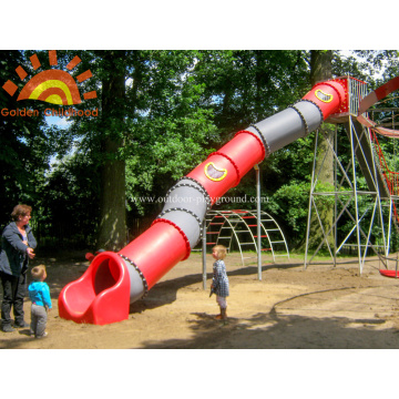 Play Set Playground Slide de tubo de quintal para venda