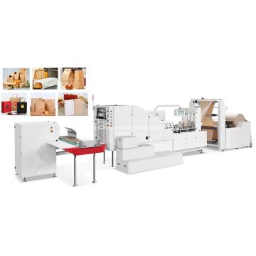 Автоматическая высокоскоростная машина для производства бумажных пакетов с квадратным дном
