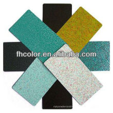 metallic finish powder paint