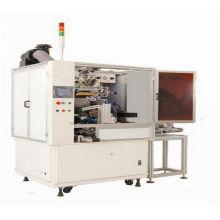 Máquina de impressão automática de cor única garrafa tampa tela