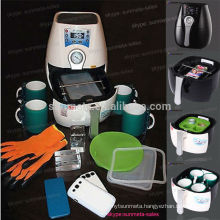 2014 new Mini 3D sublimation vacuum heat press machine ST1520