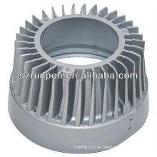 Muere el disipador de calor de aluminio de las piezas de fundición