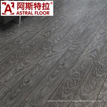 12мм CE, одобренный ISO Eco-Содружественный Handscraped ламинат