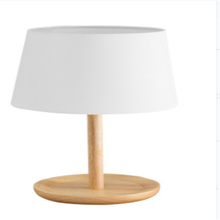 White Targe Table Lamps