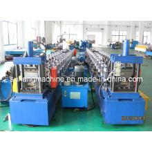 Máquina formadora de rolo para moldura de porta de metal