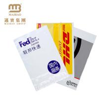O logotipo personalizado 100% biodegradável de Guangdong imprimiu sacos plásticos seguros do correio do correio de Fedex da fita autoadesiva