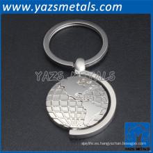 llavero de la manera del metal del oem / odm de la fábrica de shenzhen