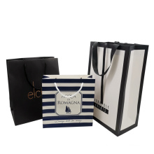 Customized Logo Packaging Two-Sided Printing Gift Paper Bag Pacakging