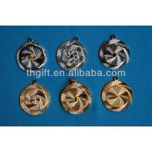 Hochwertige runde Form mit Kettenmetall Gedenkmünze ohne Farben
