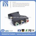 15pin male vga to 3 rca female splitter adapter для ПК-проектора для монитора